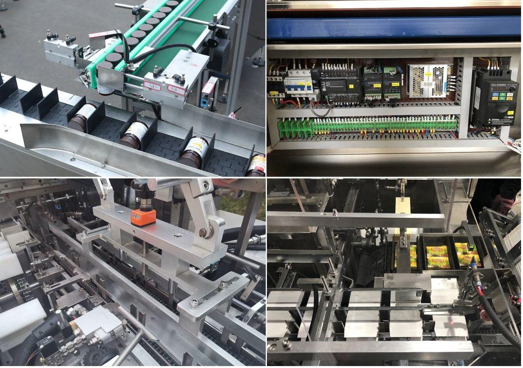 Tyz-130 Automatic Aluminum Film Cartoning Machine
