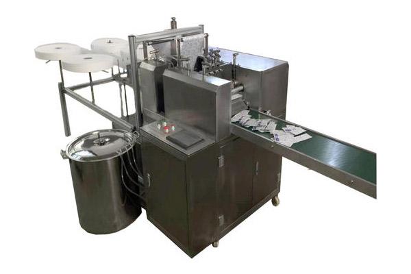 Vertical Alcohol Swab Pad Making Machine