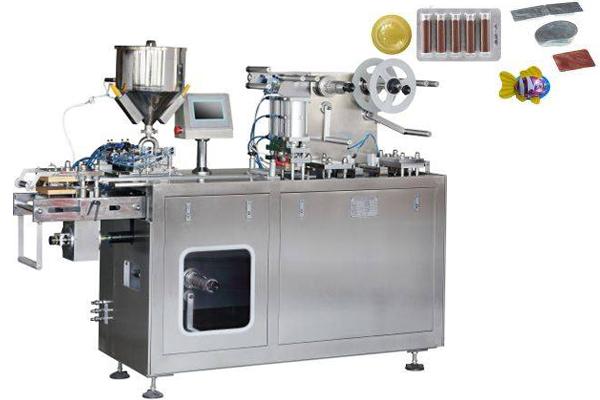 Dpp-150 Liquid Butter Honey Automatic Blister Packing Machine
