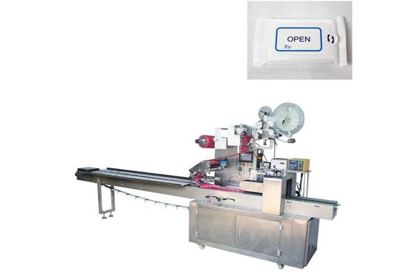 Jbk-400 Autaomtic Wet Tissue Packing Machine