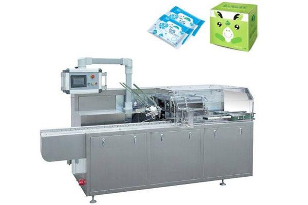 Manual Feeding Liquid/Fluid Product Carton Packing Machine